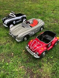Wow 7 Piece Vintage Full Size Pedal Car Collection, Buy One, Some, Or All