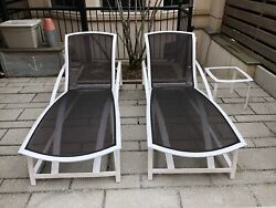 Two - Brown Jordan Wave Chaise Lounges Excellent Condition