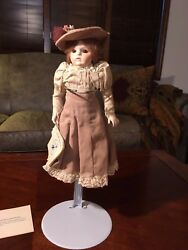 Alicia Repro Bru Jne 9 220 Doll By Jerri New In Box Mint Condition Gibson Girl