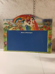 Vintage Rare 1983 Rainbow Brite Notes And Message Chalk Board Very Large