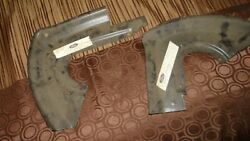 1965 - 1966 Front Fender Splash Shields Mustang And Shelby Gt350 Left And Right