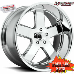 Us Mag U116 Hustler Chrome 22x9 Classic Custom Wheels Rims Set 4 Free Ship