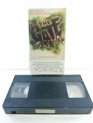The Gate Vhs Original Rare 1986 Vestron Video Ghoulies Critters Free Shipping