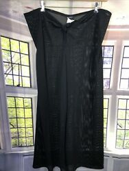 Be Creative XL NWT Mesh Beach Pants BLACK KNOTTED FRONT Swim Coverup CUTE $17.99