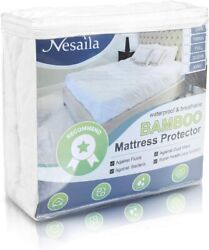 Nesaila Mattress Encasement Waterproof Mattress Protector Utopia Bedding Usa
