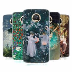 Official Masters Collection Paintings 2 Soft Gel Case For Motorola Phones