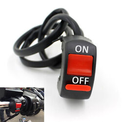 500x Motorcycle Handlebar Mount Scooter Atv Dirt Bike Kill On-off Button Switch