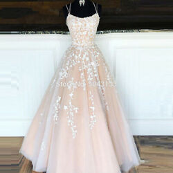 2021 Italian Long Dress Champagne Color From Ivory Leaf Applique Halter