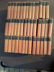 Lot Of 53 Antique Blacks Readers Service Company Books Red Cover 1920s-1930s