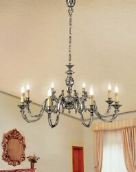 Suspended Lights Classic Brass Antique Silver