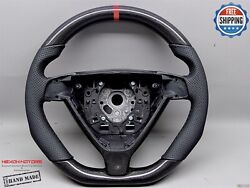 Porsche 997 987 Gen 1 Triangle Type 10mm Red Flat Small Carbon Steering Wheel V2