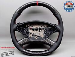Mercedes W221 W216 Facelift S63 S550 Cl63 Cl65 Cl550 8red Carbon Steering Wheel