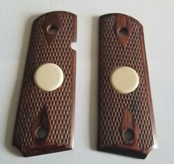 Mammoth fossil and rosewood 1911 officer size grips $49.99