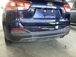 No Shipping Rear Bumper Two Piece Bumper Without Park Assist Fits 16-18 Sorent