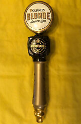 """Guinness Blonde American Lager Beer Tap Handle Ceramic Discovery Series 250 12"""""""