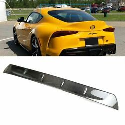 Carbon Fit For Toyota Gr Supra 5th J29 2dr Coupe Rear Window Roof Spoiler 19-21