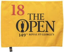 2021 British Open Championship Royal St George's Official Golf Pin Flag ⛳️