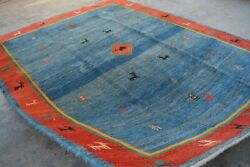 Rug Size-7'9 X 9'7 Feet Vintage Collection Afghan Homemade Rug, Gorgeous Colors.
