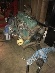 """Marine Omc 140 Inboard Boat Engine With Gear Box """"as Is"""""""