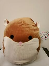 Brand New Squishmallow 16 Humphrey The Hamster 2019 Pillow Plush Supersoft Nwt
