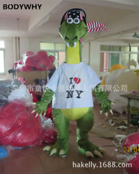 New Dinosaur Cartoon Doll Mascot Costume Suits Cosplay Party Outfits Clothing Ad