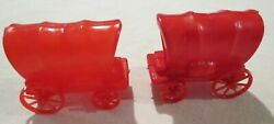 1-3 Each Stagecoach Covered Western Wagon Kelloggs Cereal Toy 1970's More Listed