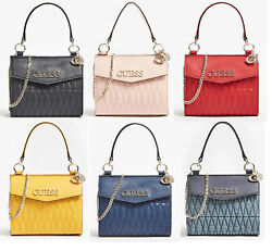 BRINKLEY Quilted Small Tote Handbag With Chain Crossbody Bag NWT VG787178 $29.99