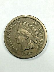 1862 Indian Head Cent 18055