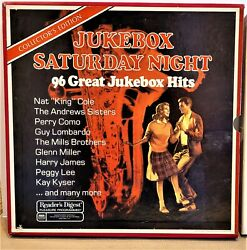 Jukebox Saturday Night 96 Great Jukebox Hits 8 Records In Near Mint Condition