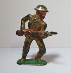 Manoil Barclay Lead Military Toy Soldier. Usa 706