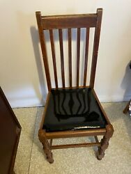 Antique Stickley Style Early Dining Chair Mission Oak Set Of 4 Rockaway Bch Ny
