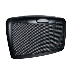 Mesh Black Grille W/bug Screen And Logo Mount Made For 2008-2017 Freightliner Casc