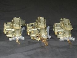 1969 427 4 Spd Corvette Tri Power Holley 4055 3659 Carburetors 911-913 Dated