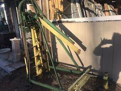 Antique Auger 3 Point Pto Post Hole Digger Attachment. Continental  Texas Made