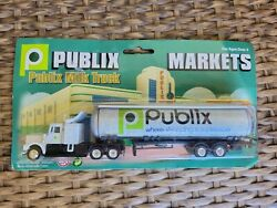 New Publix Markets Milk Truck Nip Approx 8 Long Collectable Toy Free Ship