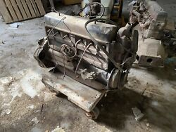 1929 Chevrolet Stovebolt Six 194 — Complete Engine W/ Bell Housing