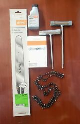 Stihl 3005 000 3909 14bar Chain Oil And Tool Kit Oem Ms170180181191192
