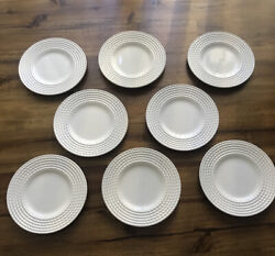 Kate Spade Lenox Wickford Plate Set 8 Plates 6 Inch Party Plate New