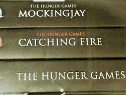 Nip Set Of 3 The Hunger Game Trilogy Books Collectible Sci Fi Iconic Series