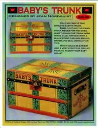 Jean Nordquist's Paper Covered Baby Doll Trunk Kit 7-1/4l X 4-1/8h X 5-1/8d