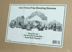 Mth 10-1125a Tinplate Traditions Ives Circus Standing Diorama