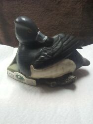 Jim Beam Ducks Unlimited Regal China Decanter 1992 Ringneck Duck Check Pictures