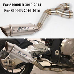 S1000rr Motorcycle Exhaust Muffler Tips Connect Link Pipe For Bmw S1000rr S1000r