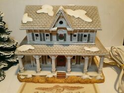 Christmas Colonial Village By Lefton-rhodes Bed And Breakfast 13501