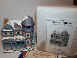 1996 Lefton Potter House Lighted Christmas House Colonial Village