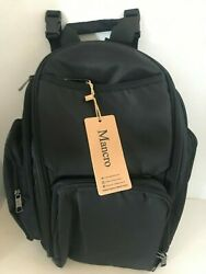 MANCRO Backpack Diaper BagWaterproof 9 Compartments Great for DAD NEW $23.35