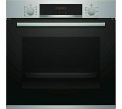 Bosch Hbs573bs0b Serie 4 Electric S/steel Pyrolytic Single Oven