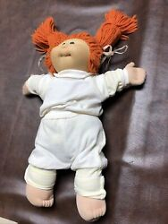 Vintage 1984 Soft Sculpture Cabbage Patch Doll Signed By Xavier Roberts Rare