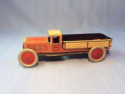Vintage Antique German Gely 1920 Toy Tin Pick Up Truck Georg Levy