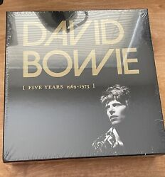 David Bowie 5 Five Years 1969-1973 Vinyl Lp Boxed Set New Sealed